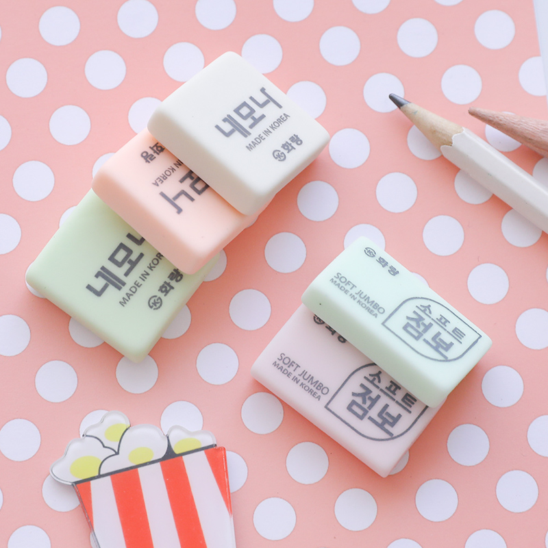 Korea Creative Stationery Children's Cute Eraser Pupils Special Rubber Wholesale Wipe Clean