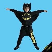 Kids Deluxe Muscle Dark Knight Batman Child Halloween Party Fancy Dress Boys Superhero Carnival Cosplay Costume