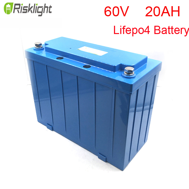 60V 3000w Lithium Ion LiFePO4 60V 20Ah Battery Storage for Electric Golf Car Battery Pack