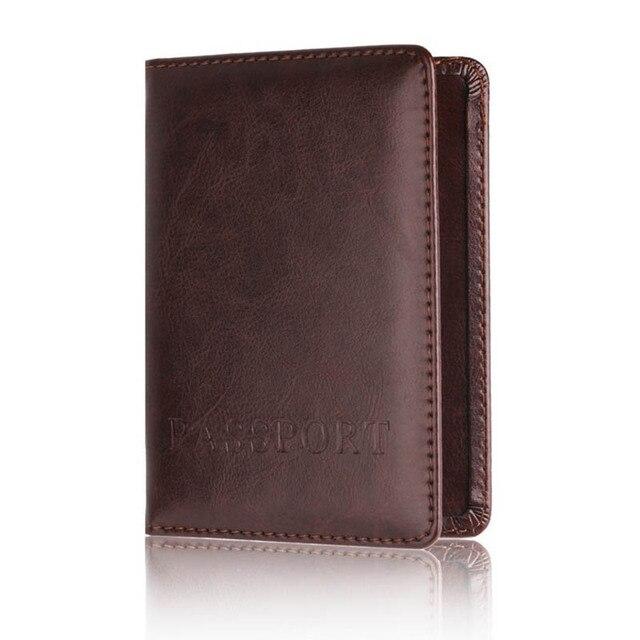 Passport Cover Women Passport Holder Designer Travel Cover Case Credit Card Holder 1