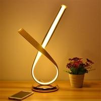 Современные Настольная лампа LED Алюминий настольная лампа светильники гибкие Лампы для мотоциклов Luminaria LED eey защитить Room Decor Освещение ЕС и