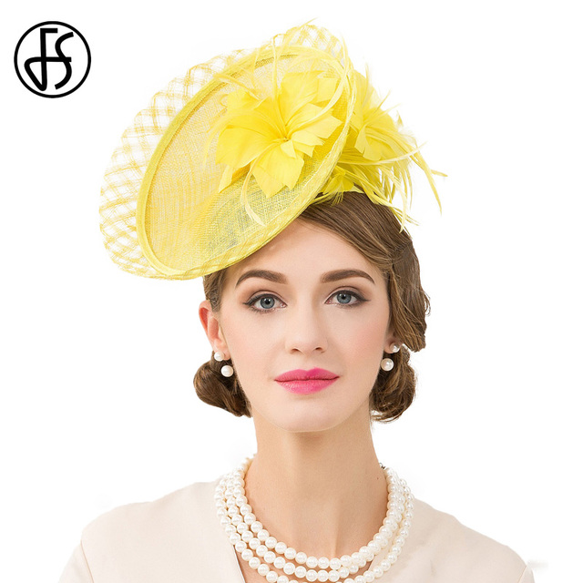 0ef9350a88828 Yellow Fascinator Hats | Wedding Ideas