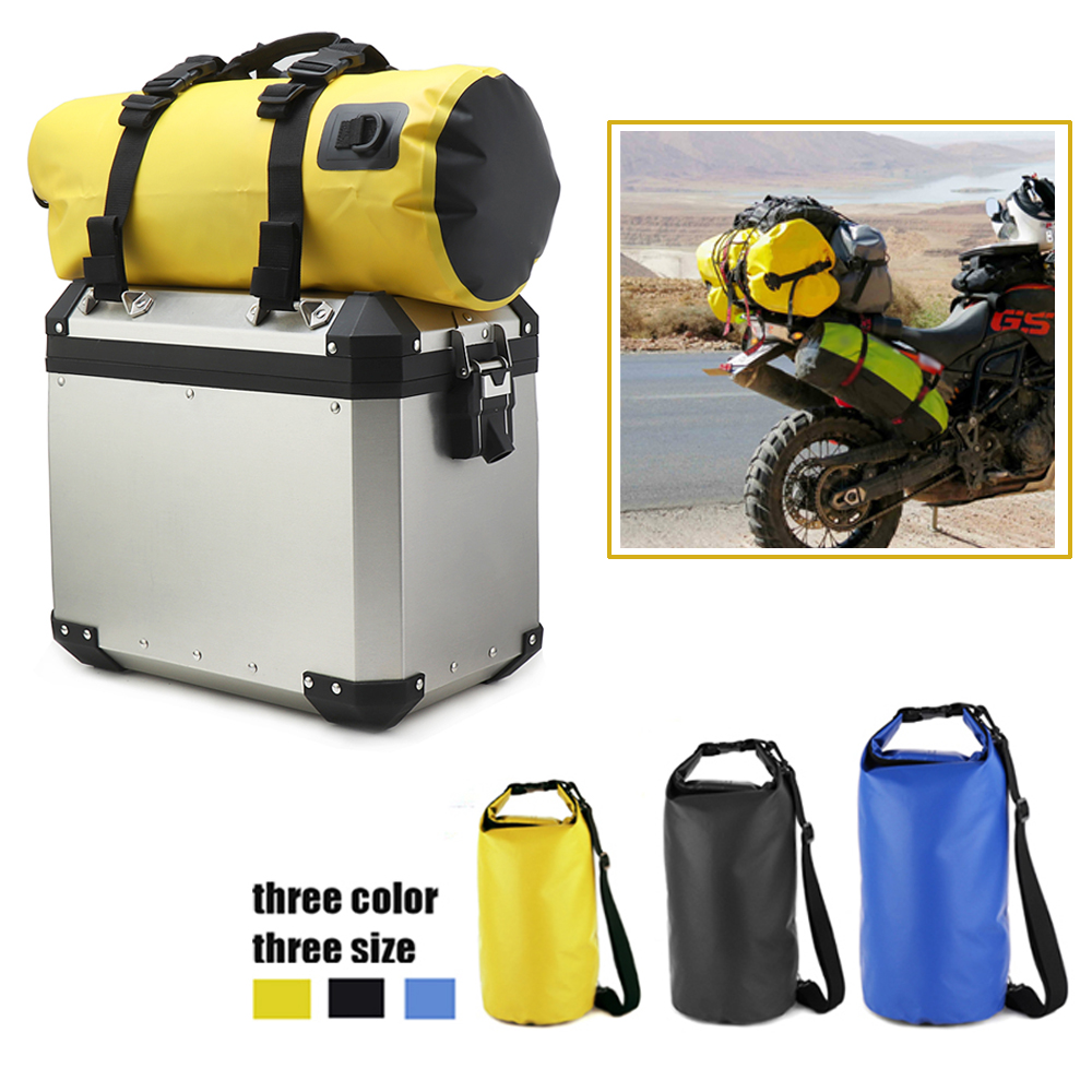 Motorcycle Bag Outdoor PVC Dry Sack Bag Waterproof 10L 20L 30L, Shoulder, Bag, Diving, Swimming, Hiking Driving Travel Kits