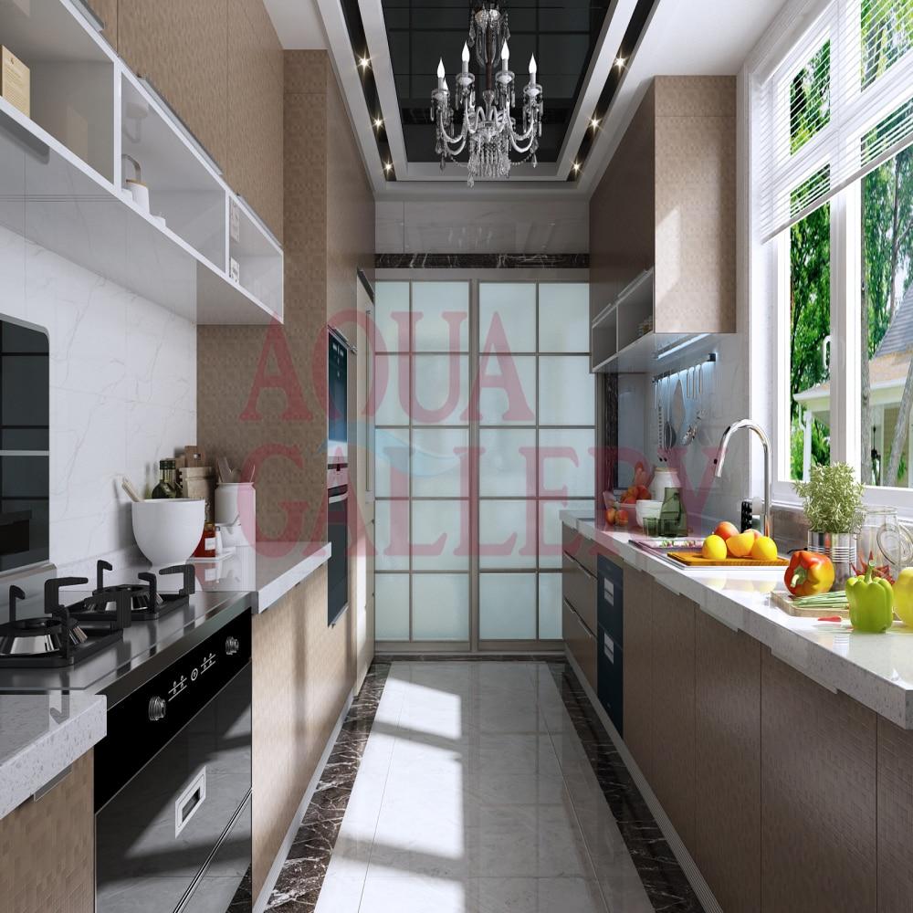 acquista all'ingrosso online cucina di lusso isole da grossisti ... - Cucina Di Design Armadio Di Lusso