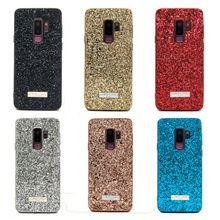 Wholesale 10pcs/lot Women Phone Glitter Case For samsung galaxy note 9 note8 S9 Plus Back Cover case Full Protect Matte Cases