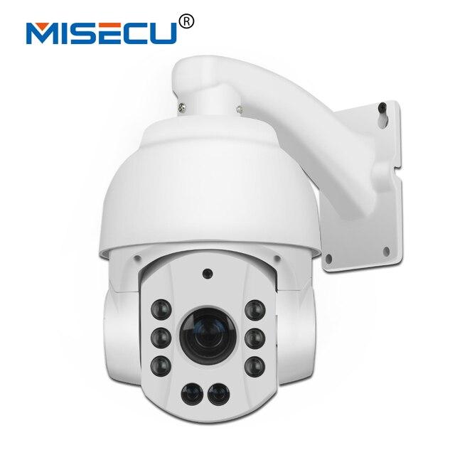 MISECU 18x optical zoom PTZ High Speed 2.0MP 1080P P2P Outdoor IP 50-80m Night vision audio 3516C+sony IMX222 ONVIF IP Camera