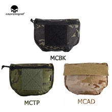 Tactifans EMERSON Tactical Pouch Armor Carrier Dump Drop Pouch Hook&loop Mounted Molle Pouch For AVS JPC CPC EM9283(China)