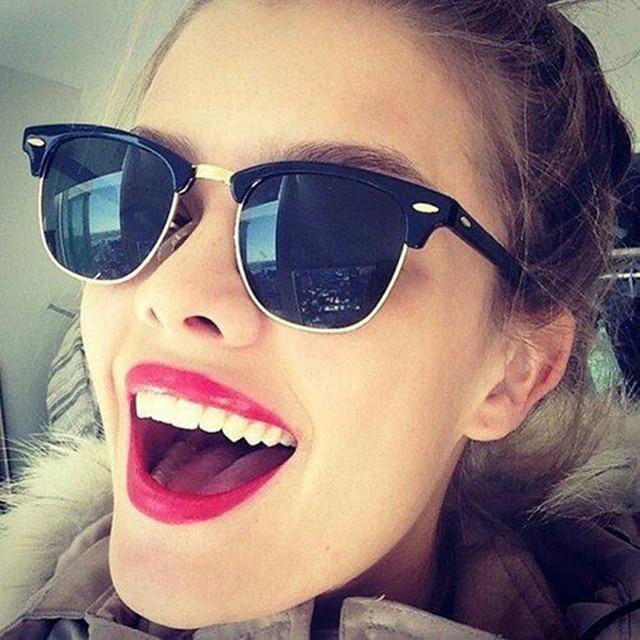 b668cd585ac Luxury Polarized Sunglasses Women Men Brand Designer Retro Vintage Sun  Glasses For Women Men Male Ladies Female Sunglass Mirror