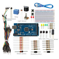 SunFounder Universal Starter Kit For Arduino With MEAG 2560 Board Including 36 Page Instructions Book