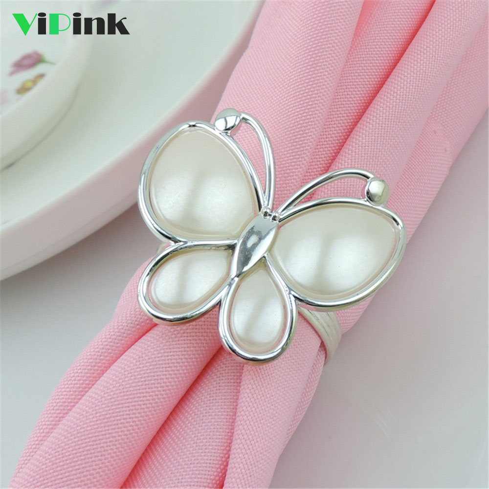 Napkin Rings 12 PCS Metal Napkin Rings Holder for Wedding Party Dinner Table Decoration Gold and Silver