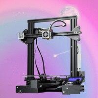 2018 Creality 3D Ender 3 PRO 3D принтеры обновлен Cmagnet сборки плиты резюме Мощность сбой печати DIY KIT MeanWell Питание