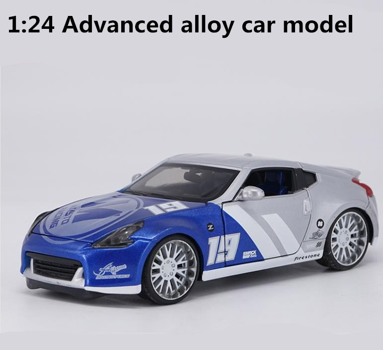 1: 24 advanced alloy model car,high simulation NISSAN 370Z sports car model,metal diecasts,collection toy vehicles,free shipping