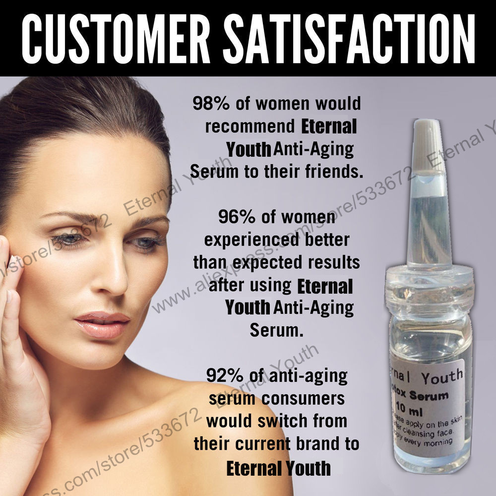 5*10ml Boto X Face Firming Lifting Serum Skin Care Product Botulinum Concentrate Powerful Anti-wrinkle Anti-aging