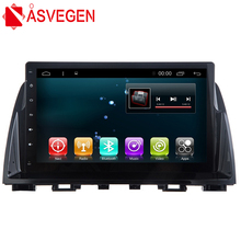 Car Multimedia Player For Mazda 6 Atenza 2014 9'' Android 7.1 Quad Core Auto Stereo Radio Audio GPS Navigation System 6 2joying single 1 din core quad universal car audio stereo radio android 6 0 multimedia player gps navigation head unit