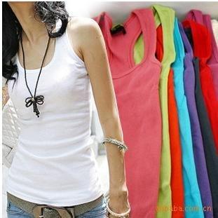 free shipping 100pcs/lot Women T shirt, Candy color t shirt , women wear, women base shirt,(casual dress)coat