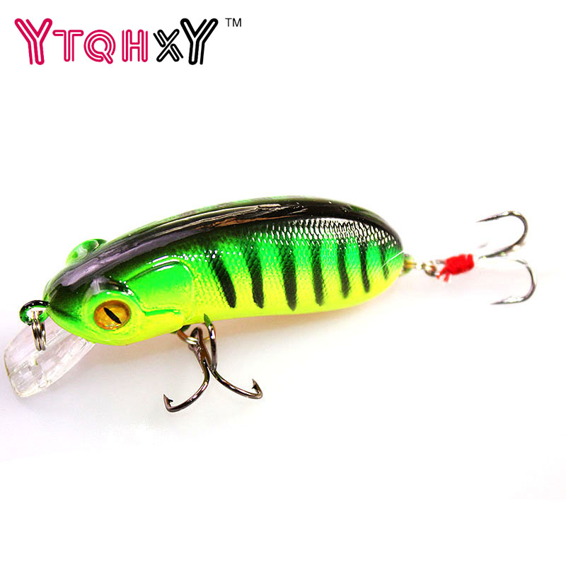 1Pcs Crazy Wobblers Fishing Lure ice fishing Crankbait pesca Swimbait 6cm 10g winter fishing Fishing Tackle bait YE-244Y