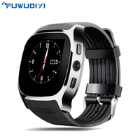 T8 Bluetooth Smart Watch Support SIM TF Card LBS Locating With Camera Sports Sync Call Wristwatch