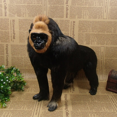 simulation cute chimpanzee 29x28x15cm model polyethylene&furs chimpanzee model home decoration props ,model gift d698 simulation cute squatting cat 35x28x26cm model polyethylene