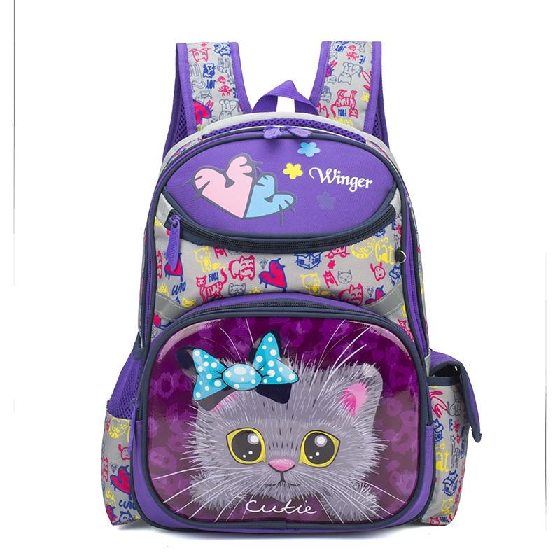Waterproof Children School Bags Girls Orthopedic Kids primary School Backpacks cartoon Schoolbag Kids Backpack Mochila Infantil|School Bags| |  - title=