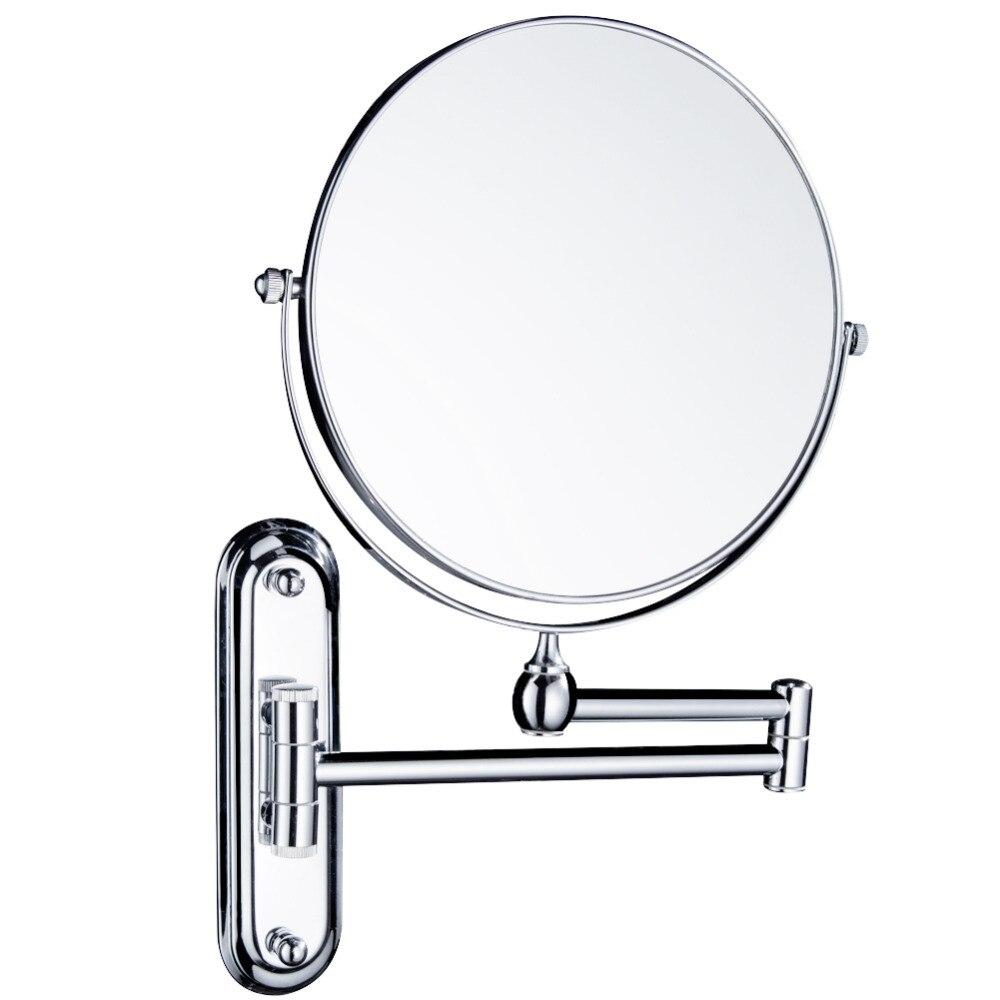 Gurun Makeup Mirror Mirror on the bathroom wall Adjustable Two sided ...