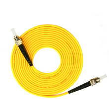 ST to Single-mode optical fiber patch cord SM ST/ST jumper cabel Simplex 9/125 UPC Polish OFNR 3m 5m 10m 15m