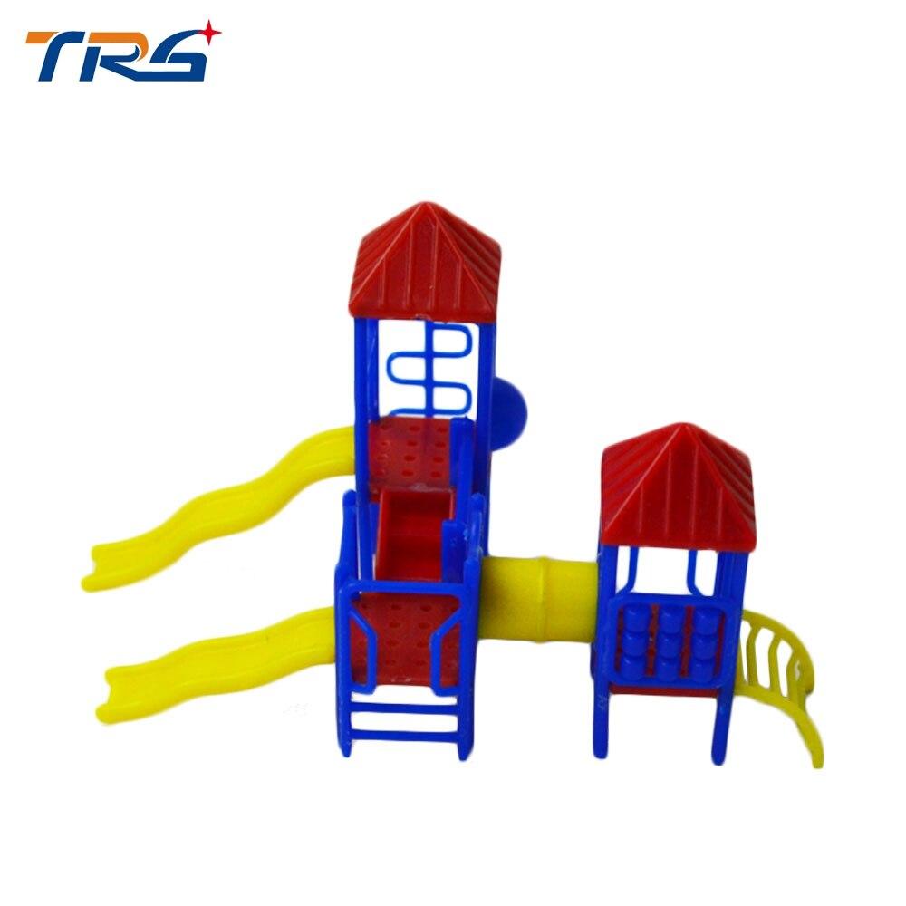 3 Stks Model Slide Miniatuur Speeltuin Glijbaan 1 75 100 Schaal