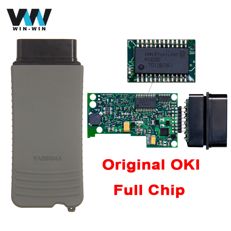 Original VAS 5054A ODIS V4.1.3 Full OKI Chip OBD OBD2 Diagnostic Tool VAS5054A ODIS 4.1.34.0.03.0.3 Bluetooth for UDS Scanner