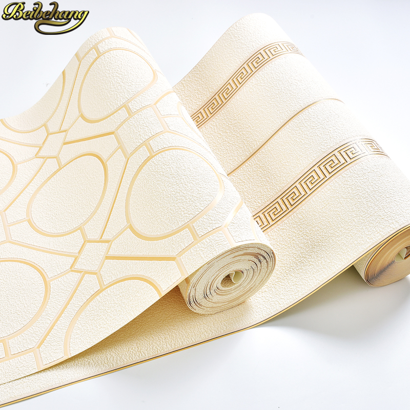 beibehang Luxury Chinese minimalist geometry Wallpaper For Walls living Room decoration Bedroom 3D stripe wall papers home decor stylish geometry stripe scarf
