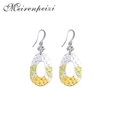 Metal Drop Earrings Trendy Statement for Women New Arrival Fashion Jewelry Accessories Personality