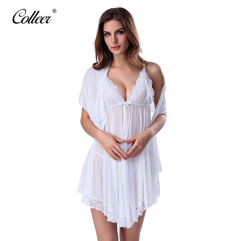 dc4dc59191 Colleer marca mujeres sexy lingerie corset con g string 2 unidades set  vestido Ropa interior pijamas más el tamaño XXL envío gratis dropshi en  Sujetador y ...