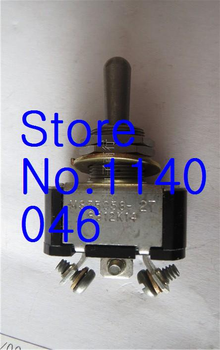 MS35058-8812 CH USA big toggle switch 3PIN bilateral reset Hole 12mm