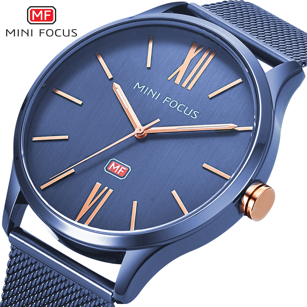 MINIFOCUS Sport Watch Men Waterproof Gold Mens Watches Top Brand Luxury Silicone Clock Quartz Watch Chronograph New Reloj Hombre casima luxury brand sport quartz watches men reloj hombre fashion silicone band100m waterproof men watch montre homme clock