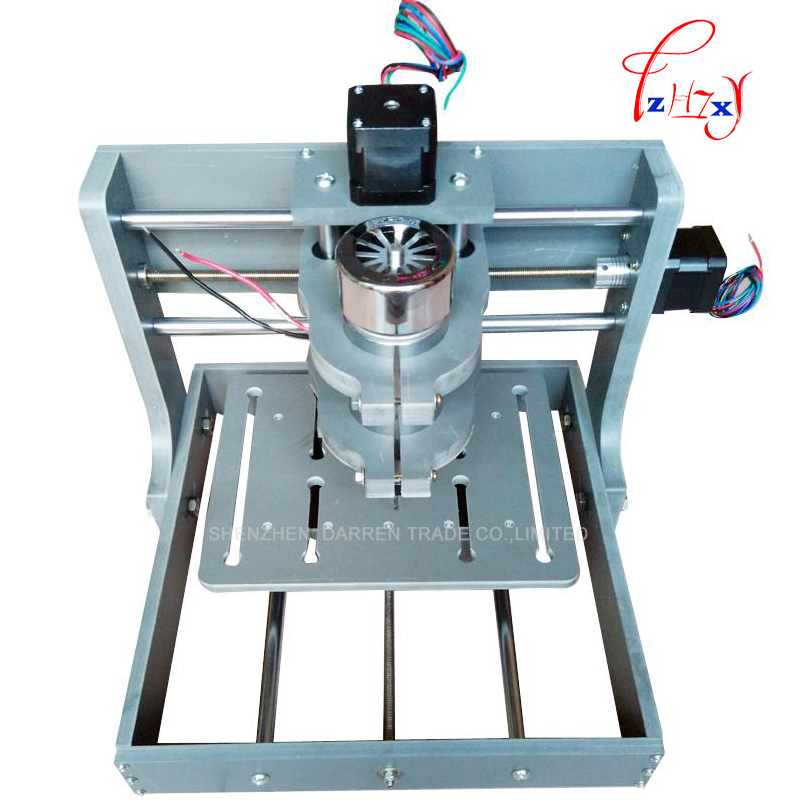 1pcs  DIY CNC Wood Carving Mini Engraving Machine PVC Mill Engraver Support MACH3 System PCB  cnc milling machine  CNC 2020B acctek mini cnc desktop engraving machine akg6090 square rails mach 3 system usb connection