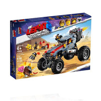 In Stock 2019 New 45008 Emmet & Lucy's Escape Buggy Compatible LegoING Movies 2 70829 Blocks Bricks Building DIY Toys Gifts