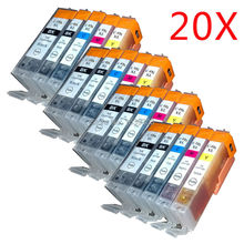 20x PGI450 CLI 451 ink Cartridge Compatible for Canon IP7240 MG5540 MG6440 MG6640 MG5640 MX924 MX724 IX6840 for Ukraine Middle E