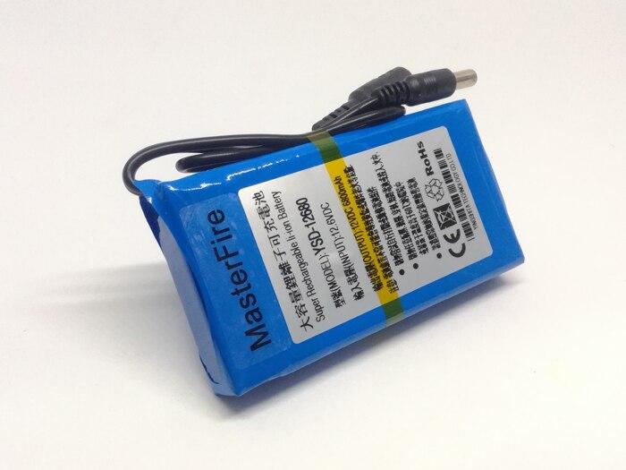 mah super capacidade recarregável li-ion baterias para