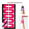 1 unids Peel Off cinta del arte del clavo de látex Palisade Creative Nail Protector para el arte de uñas pintura polaco UV Gel / barniz de estampación herramientas