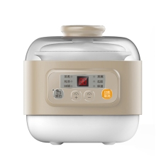 DMWD 0.8L электрическая мини-плита 220V керамическая кастрюля для супа изолировать воды тушеного мяса для варки яиц Еда отпариватель сохранение тепла 9,5 H Установка