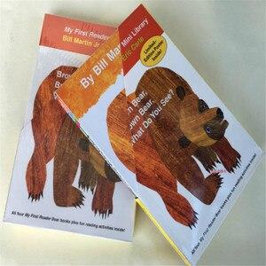 Image 4 - 4 Uds. Libro en inglés para niños mi primer lector Mini biblioteca: oso marrón, oso marrón, ¿qué ves? Educación popular libro
