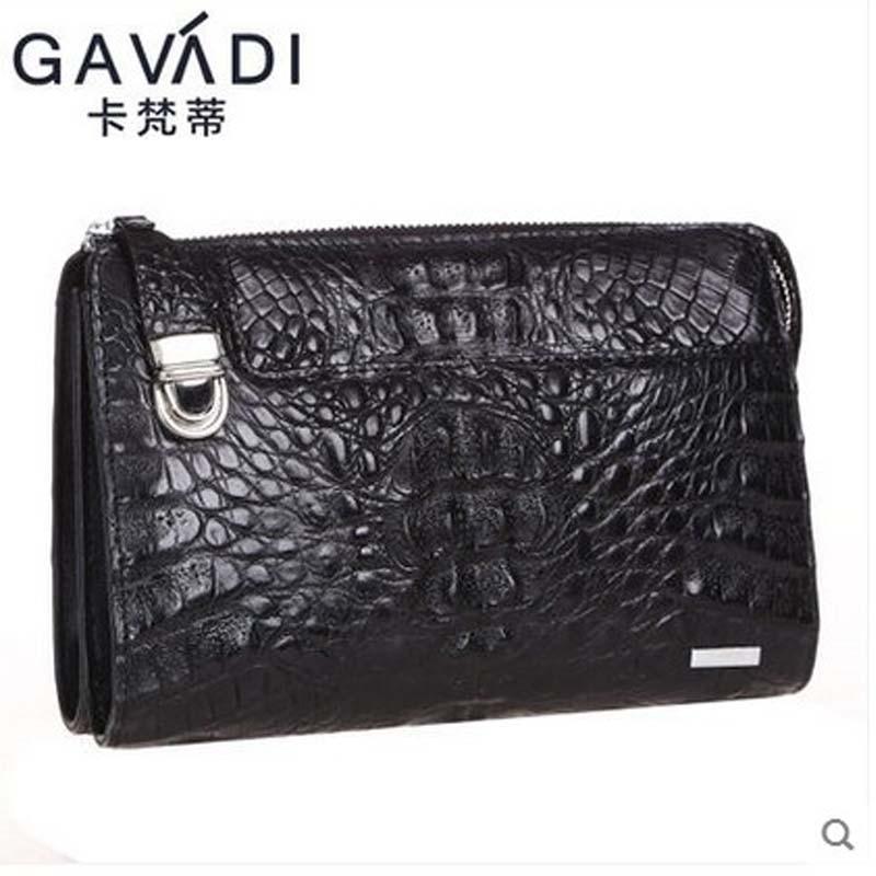 kafandi new crocodile man bag men business  men clutch bag  fashion leisure Holiday travel