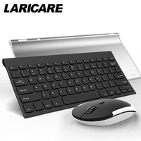 laricare wireless keyboard and mouse set for office and work. very easy to use.connect by adapter LKM-1
