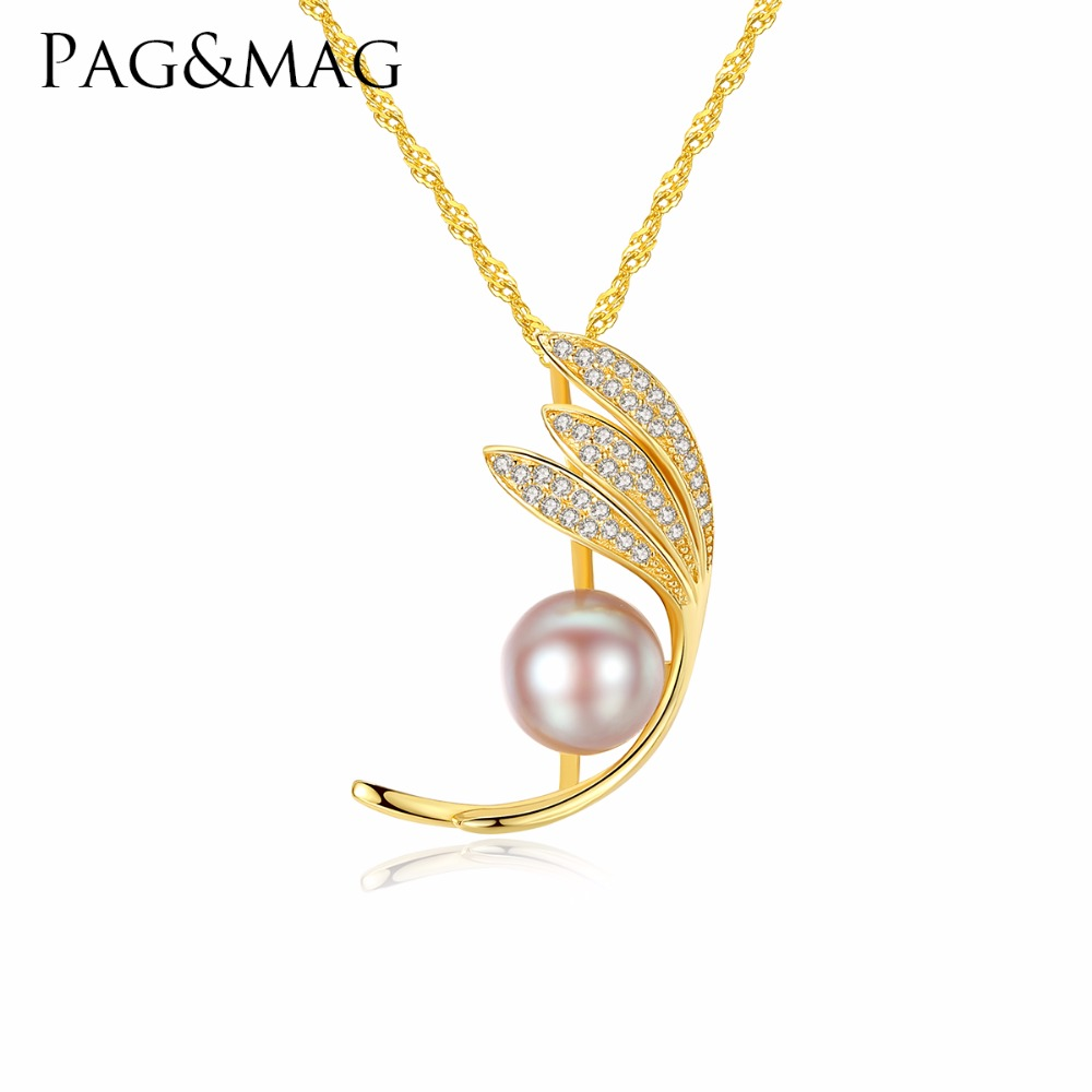 """925 Sterling Silver 17/"""" Tiny Freshwater Pearl Round Cluster Necklaces Pendant"""