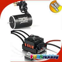 Poder de 1:10 Combo Incl Tenshock RC906 6 polos Micro Motor sin escobillas y hobbywing quicrun WP 10BL60 sin escobillas impermeable 60A CES