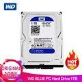 1 ТБ WD синий 3,5 SATA 6 ГБ/сек. HDD sata Внутренний жесткий диск 64 м 7200PPM жёсткий диск настольный жесткий диск для ПК WD10EZEX
