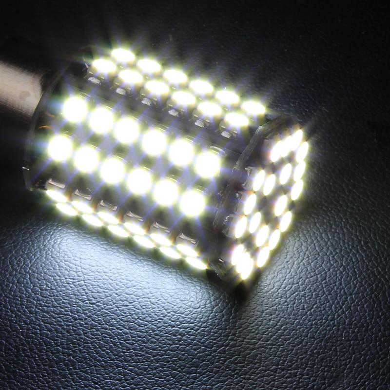 1156 BA15S Luzes de Sinalização de Cauda de Carro 80 SMD LED - Faróis do carro - Foto 5