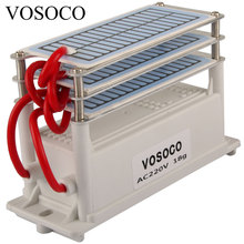 18 G/u Ozon Generator Draagbare Ozonizer Waterzuiveraar Air Cleaner Sterilisator Behandeling Lange Levensduur Formaldehyde Verwijdering 220V 110V