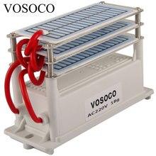 18 gr/std Ozon Generator Tragbare Ozonisator Wasserfilter Luft reiniger Sterilisator behandlung Lange lebensdauer Formaldehyd entfernung 220V 110V