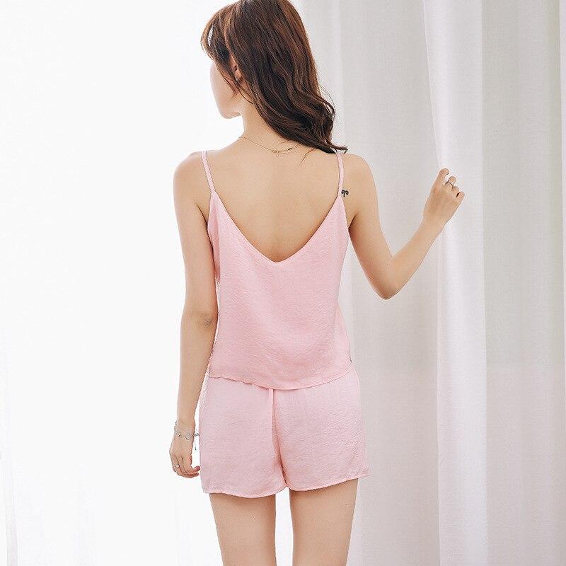 Women Pajamas Sets Sexy Pyjama Set Nightsuit Bathrobe Women Sleepwear Shorts Pijamas Homewear