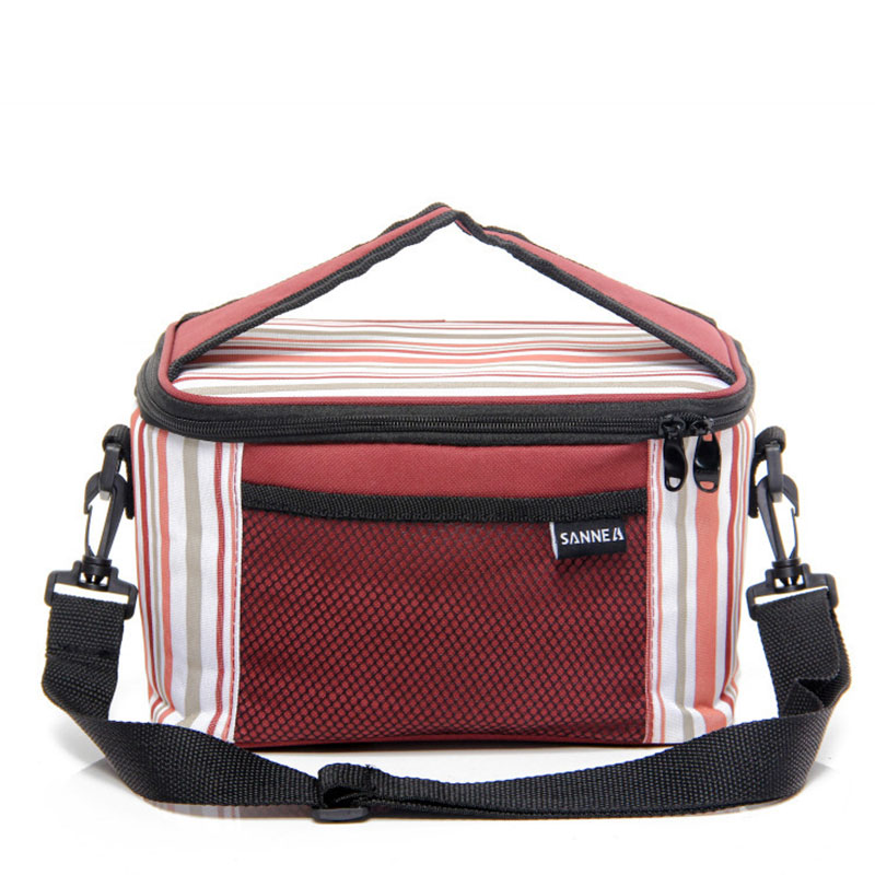 лучшая цена 5L Lunch Bags Oxford Thermal PEVA Pearl Cotton for Kids Adults Food Picnic Cooler Bags Insulated Storage Fresh keeping Bags