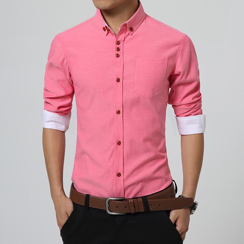 Mens Red Dress Shirt Promotion-Shop for Promotional Mens Red Dress ...